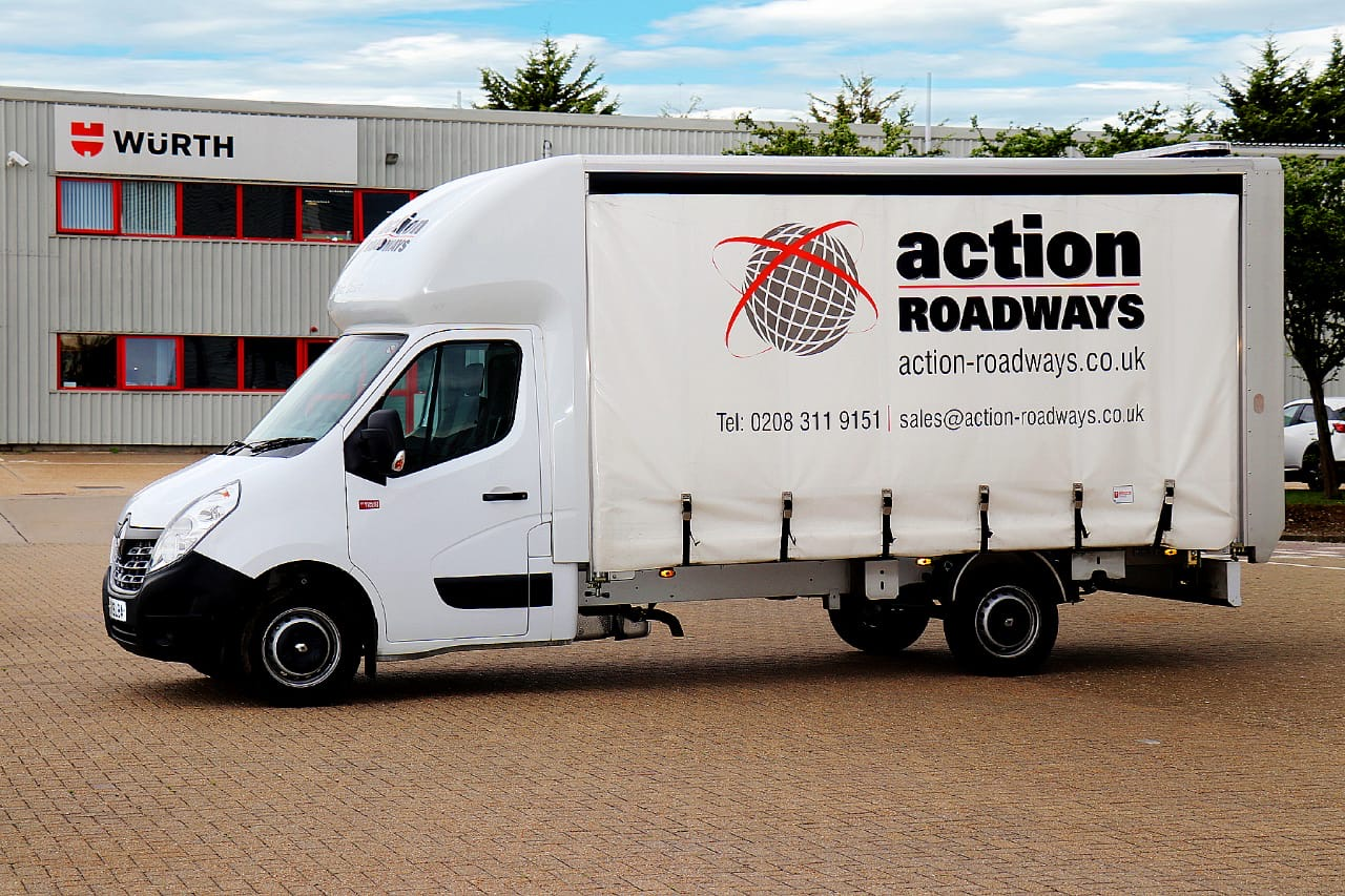 Action Roadways delivers loo roll free of charge to food banks for wholesaler Migro